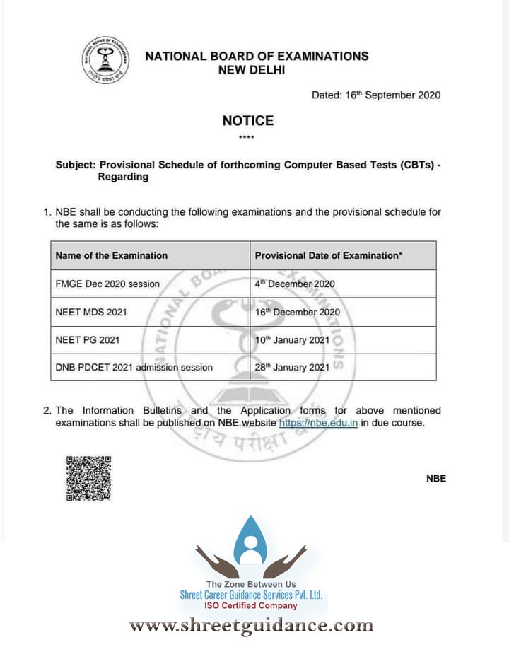 Neet Pg Shreet Career Guidance Services Pvt Ltd