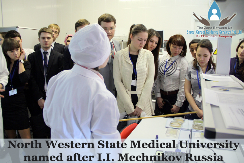 COURSES OFFERED AT NORTHWESTERN STATE MEDICAL UNIVERSITY NAMED AFTER I.I. MECHNIKOV RUSSIA